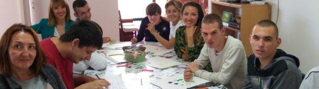Likovna radionica sa NVO Fit Woman Montenegro