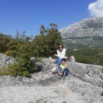 """17. 10. 2019.   Izlet na obližnji vidikovac """"Tajno brdo"""" - selo Kameno iznad Herceg Novog, šetnja kroz prirodu, ručak na otovrenom."""